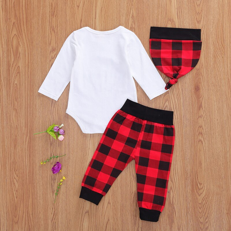 Little Man Plaid Set