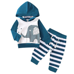 Elephant Hooded Set