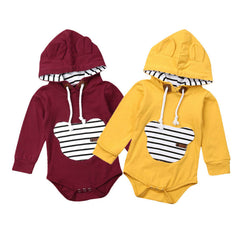 Finley Hooded Romper