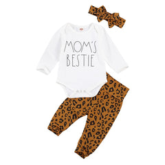 Mom's Bestie Leopard Set