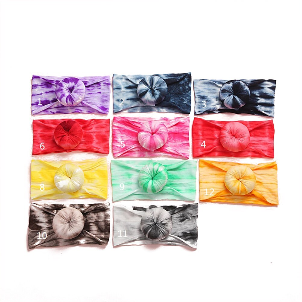 Tie Dye Ball Headband