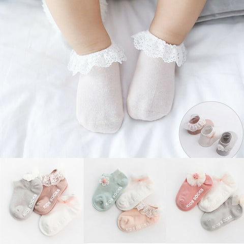 Stylish Socks 3 PCs Set