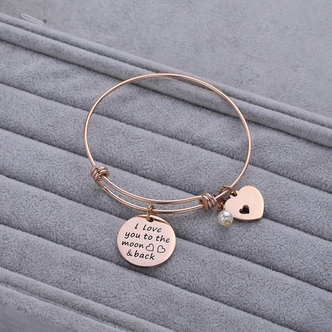 Moon & Back Bracelet - 2 colors