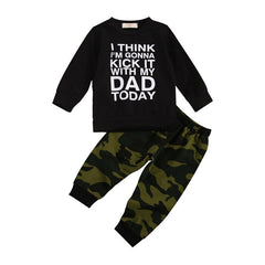 Kick With Dad Camo Set