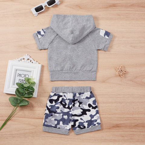 Camo Hooded Summer Set