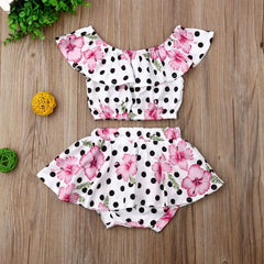 Karsin Polka Dot Set