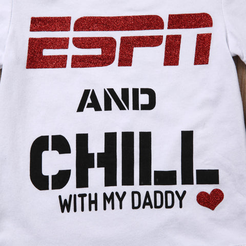 ESPN and Chill with My Daddy Outfit