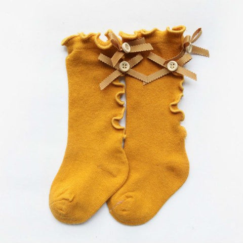 Ruffle Baby Knee Stocking - 6 colors