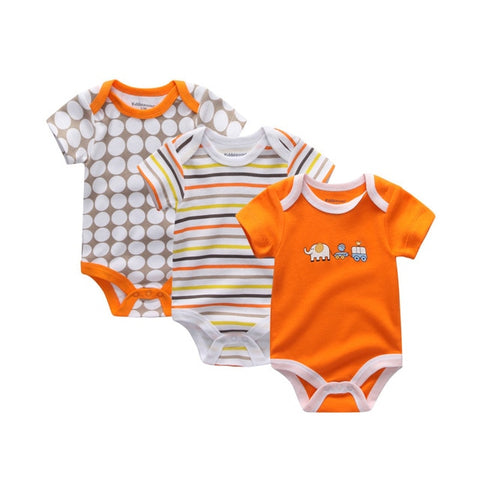 Baby Boy Onesie 3 Pcs Pack - 14 designs
