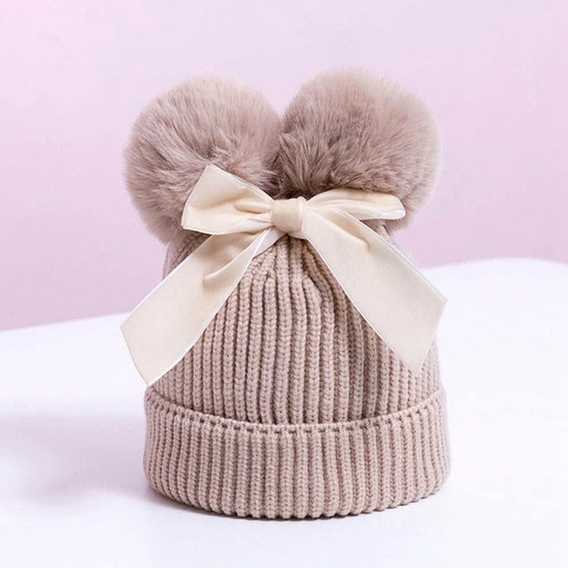 Luxury Velvet Bow Hat