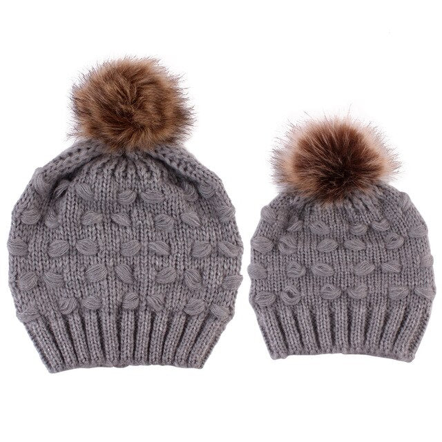 Matching Beanies 2PCs Set