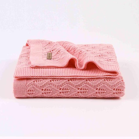 Knitted Little Blanket - 3 colors