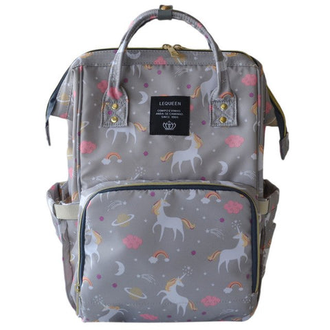 Unicorn Diaper Backpack - 4 colors
