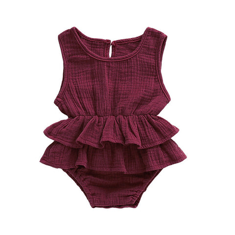 Ruffle Playsuit- 7 colors