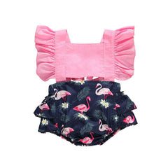 Sweet Flamingo Playsuit