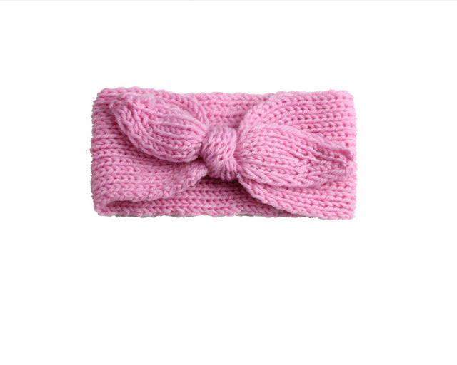 Knitted Baby Headband