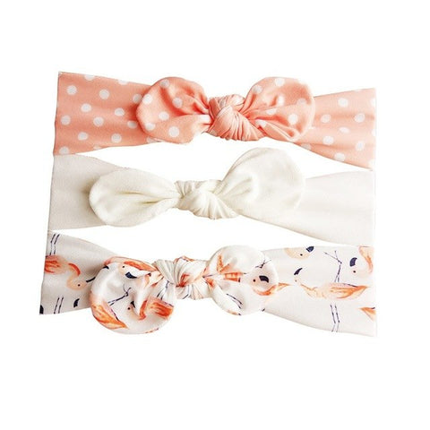 Trendy Bow Headband Set - 8 designs