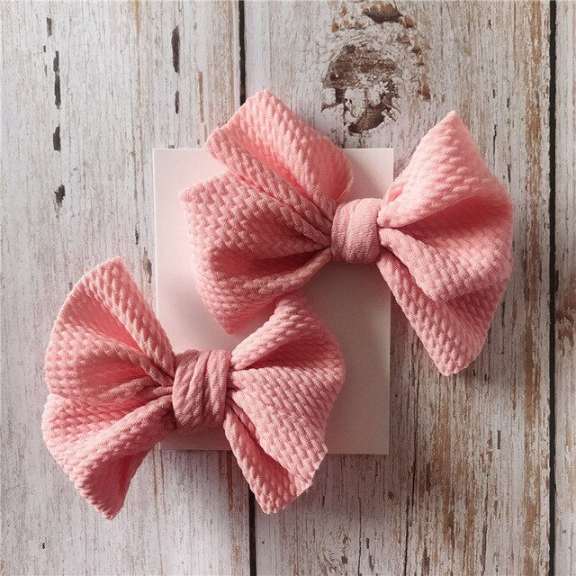 Bowknot Hair Clips 2pcs