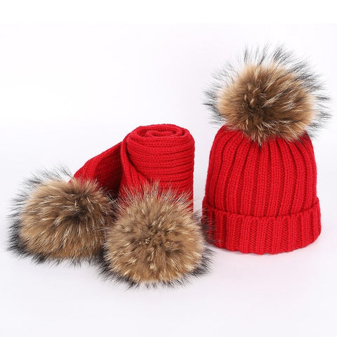 Big Pom Pom Winter Set - 8 colors