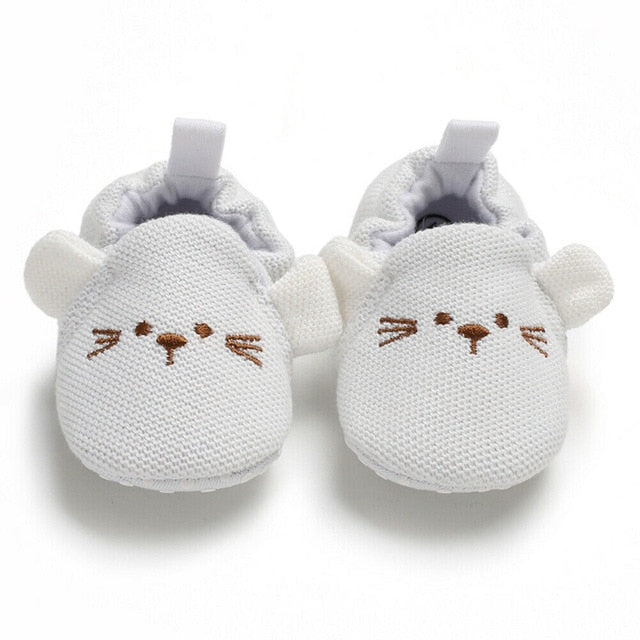 Mousy Baby Shoes