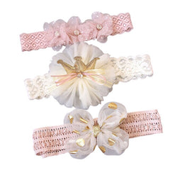 3 Pcs/Set Fashionable Baby Headbands