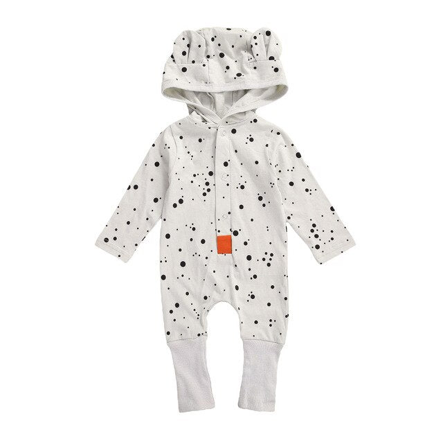 Blake Hooded Romper - 2 designs