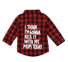With My Mom Shirt