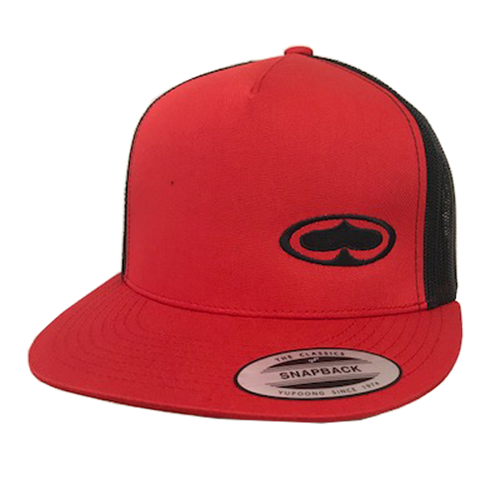 RED/BLACK OG SPADE TRUCKER HAT