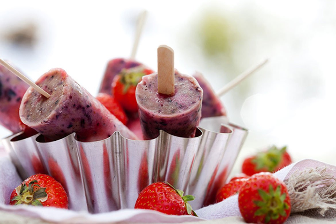 Super-Berry Freezer Pops