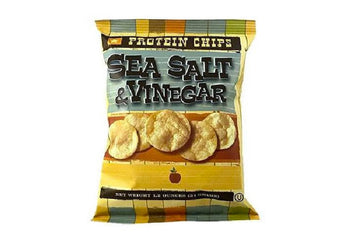 Sea Salt and Vinegar Protein Chips Product Spot Light
