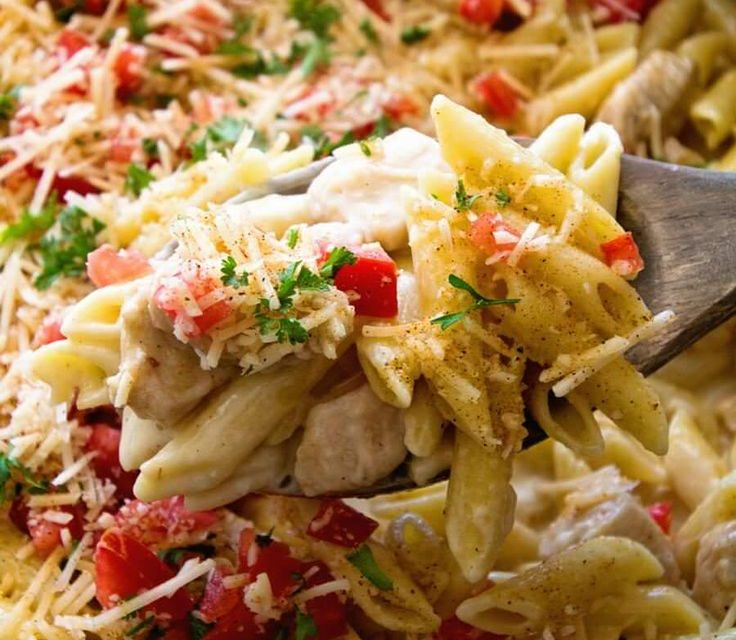 Spicy Cheese Chicken Pasta