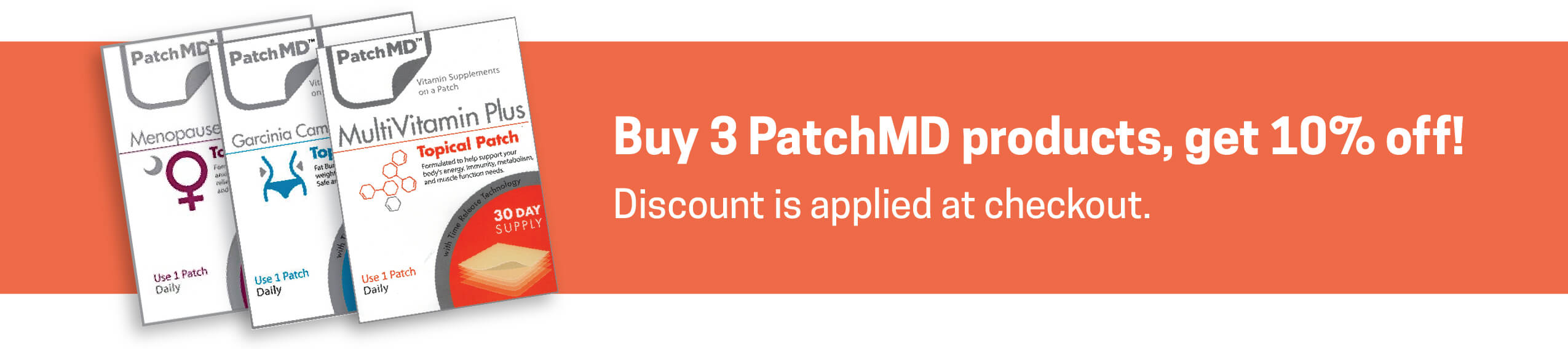 PatchMD - Menopause Day Relief Patch (30-Day Supply)