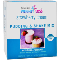 Strawberry Cream Pudding & Shake Mix - Aspartame Free