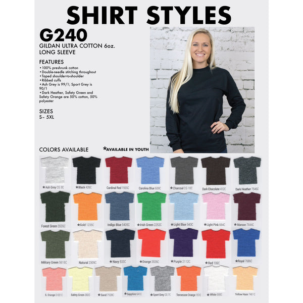 Long-Sleeve T-Shirt 2400
