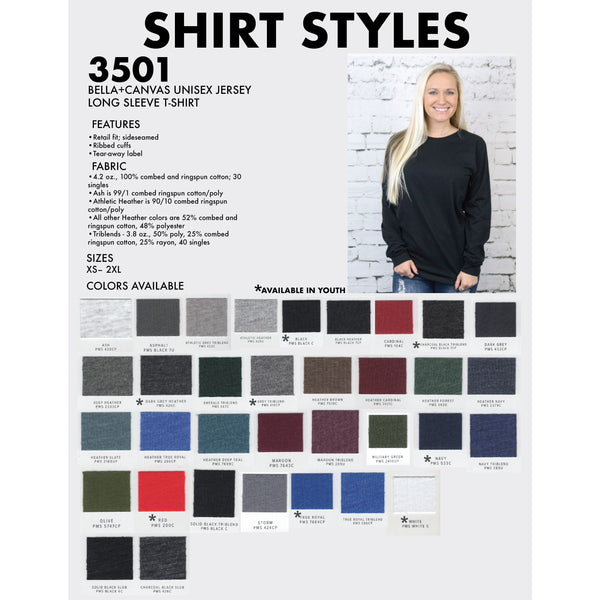 3501 Soft Long-Sleeve - Cattilac Style