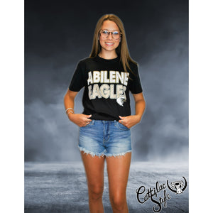 Abilene High Eagles - Stripes & Dots T-Shirt
