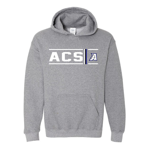 Abilene Christian Panthers - Simple Stripe Hoodie