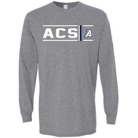 Abilene Christian Panthers - Simple Stripe Long Sleeve T-Shirt