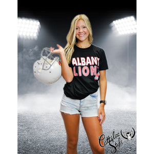 Albany Lions - Stripes & Dots T-Shirt