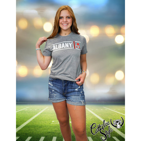 Albany Lions - Simple Stripe T-Shirt