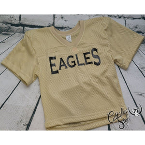 Abilene High Eagles - Gold Youth Football Jersey