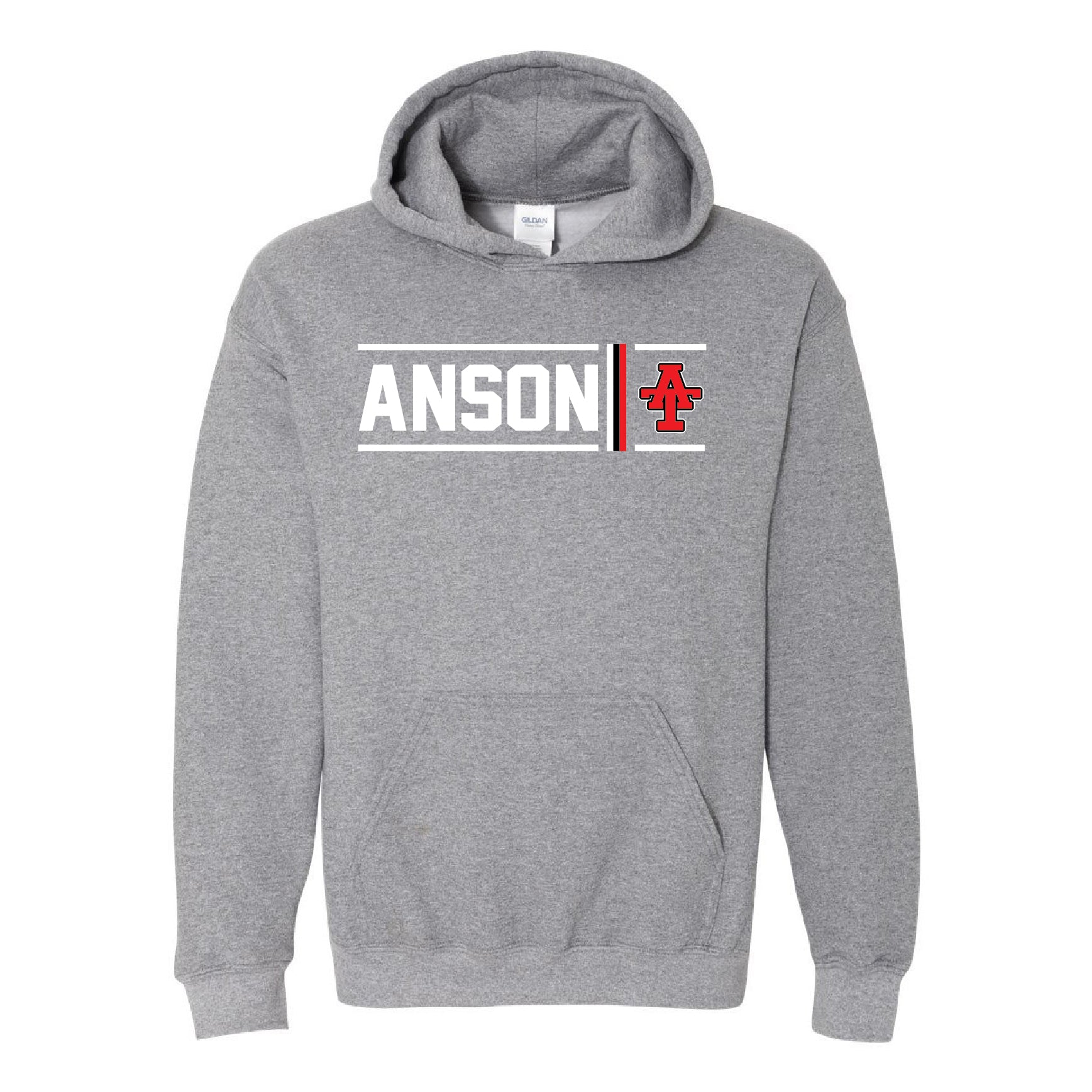 Anson Tigers - Simple Stripe Hoodie
