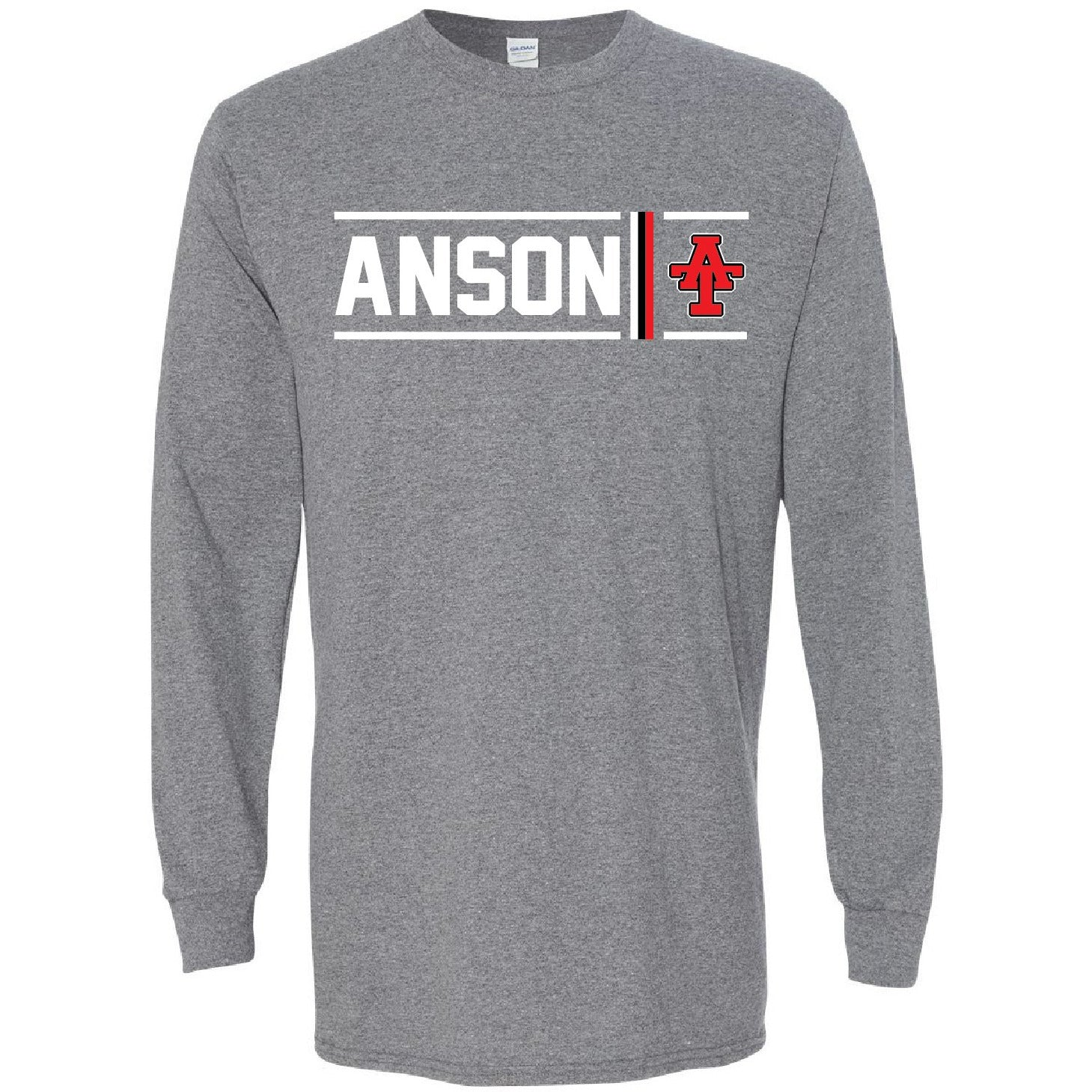 Anson Tigers - Simple Stripe Long Sleeve T-Shirt