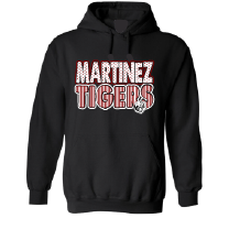 Martinez Tigers - Stripes & Dots Hoodie