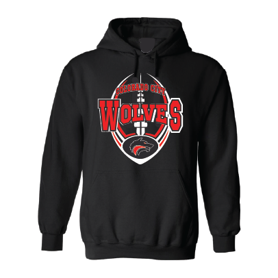Colorado City Wolves - Football Hoodie