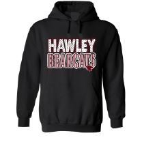 Hawley Bearcats - Stripes & Dots Hoodie
