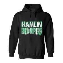 Hamlin Pied Pipers - Stripes & Dots Hoodie