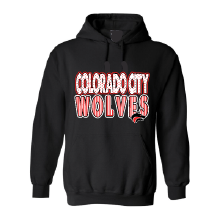 Colorado City Wolves - Stripes & Dots Hoodie