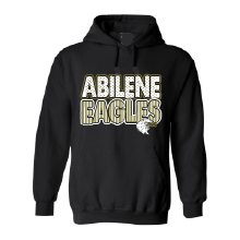 Abilene High Eagles - Stripes & Dots Hoodie