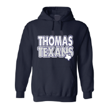 Thomas Texans - Stripes & Dots Hoodie